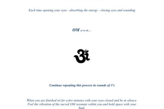 Meditation: The Power of OM
